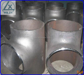 butt welded equal pipe tee, equal pipe tee,seamless pipe tee