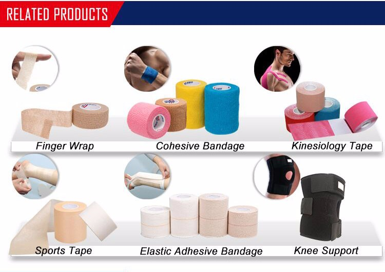 China hot porous elastoplast latex free elastic adhesive bandage