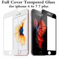 Premium 0.3mm 2.5D 9H Full Coverage Cover Tempered Glass For iPhone 6 6s Plus Screen Protector Protective Film For iPhone 7 7p