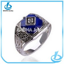 Europe famous vampire works alloy wedding occasion sapphire rings yiwu