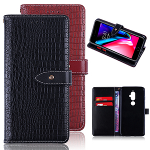 High Quality PU Leather Flip Wallet Business Credit Card Holder Accessory Mobile Protective Back Phone Cover for Lenovo K8 Note