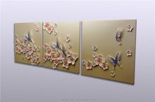 abstract handmade butterfly designs wall painting