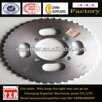 Motorcycle sprocket cg125,chain and sprocket motorcycle for hot sale,