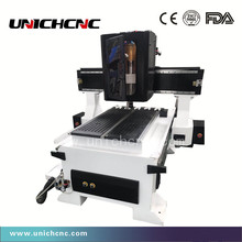 Mini metal mould engraving milling cnc router machine ATC