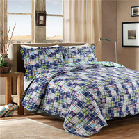 3PCS Comfortable Luxury Print Bed Sheets