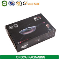 custom balck paper box for wok pan