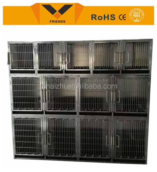 High Quality Heavy Duty Stainless Steel Dog Cage