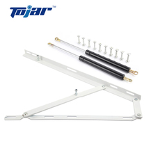 Metal hydraulic rubber compression master lift gas spring shock strut for murphy wall bed storage frame mechanism hardware