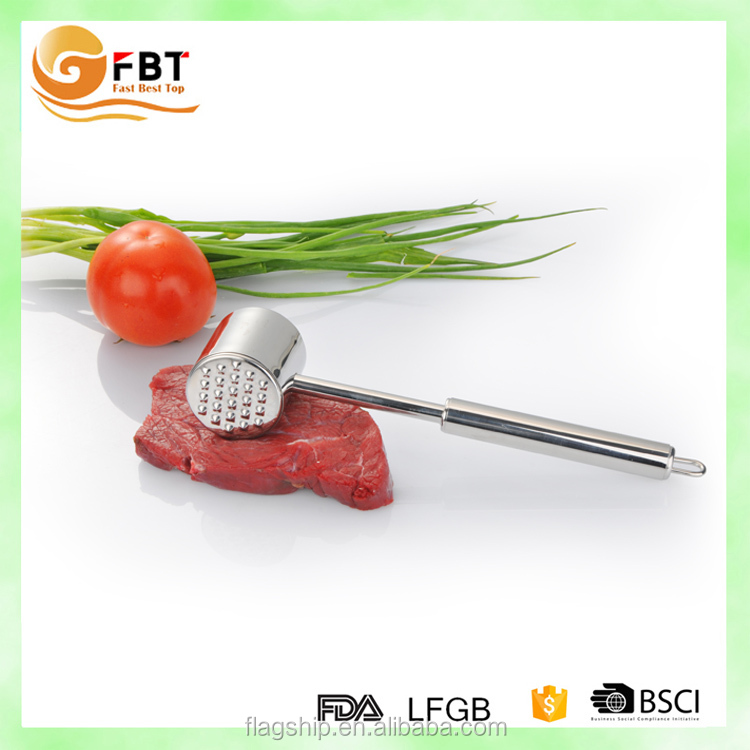 2016 new kitchen tool stainless steel meat hammer