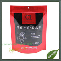 High quality plastic pet food packaging bags for dog and cat food
