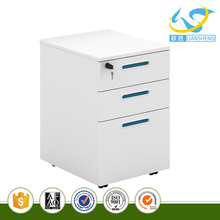 Bright Color White Board Steel File Cabinet with Red and Green Cabinet Handle