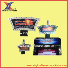2015 slot machine topper light gambling game machine accessory game,