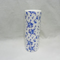 home decoration blue and white pottery vase