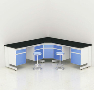 Chinese Chemical Lab Desk Furniture, Modern Aluminium Laboratory Work Bench With Shelf