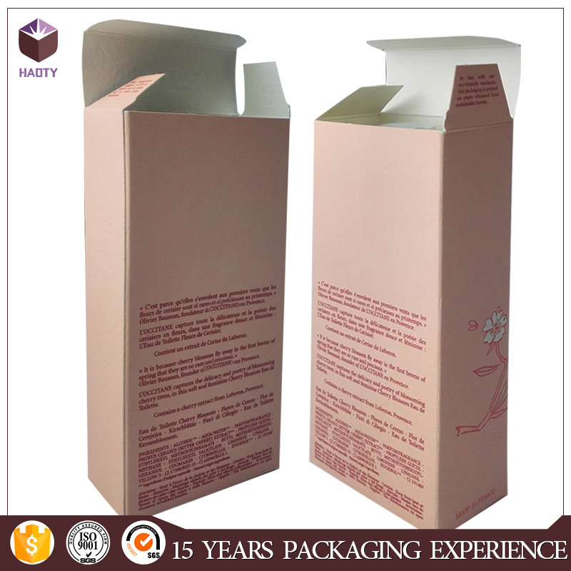 wholesale Colorful art paper packing boxes for perfumes