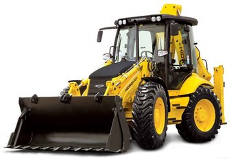 4x4x4 Backhoe Loader