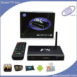 Shenzhen manufacture best selling tv box android hd pron video with easy remote control