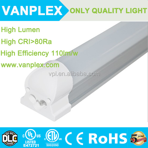 Lamparas de led for Home depot 30w 6feet T5 led tube with fixture