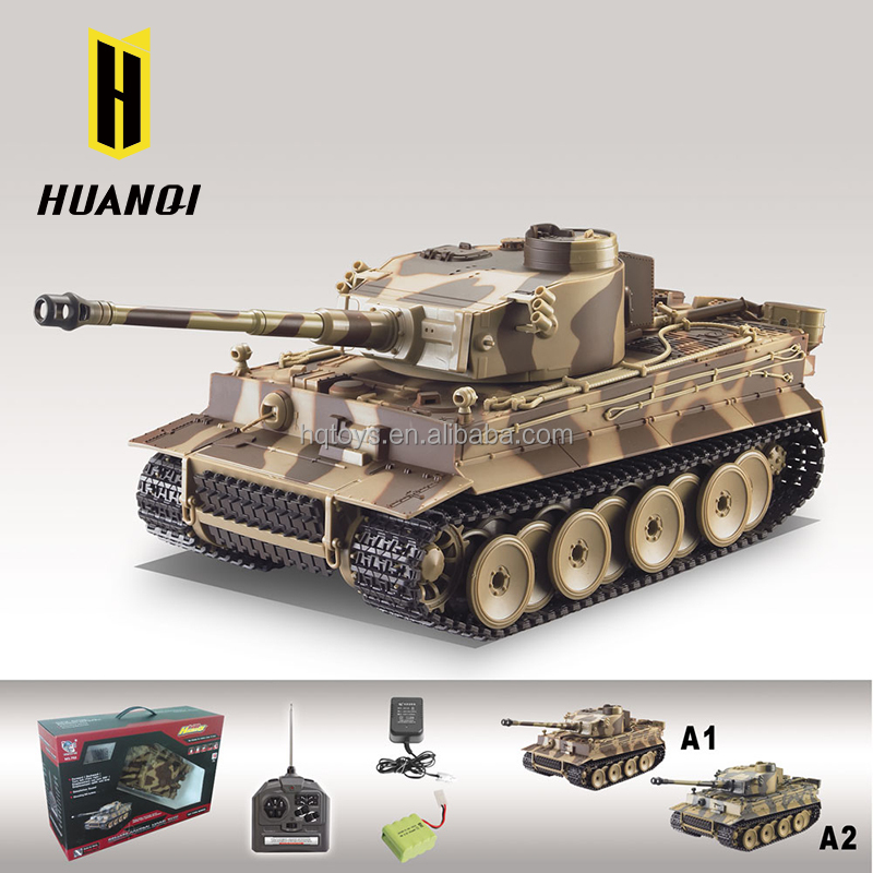 wholesale HQ782-10 large remote control airsoft bullet tank BBS rc tank 1 24 scale with safety device