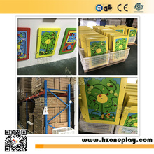 Wooden Interactive Wall Mounted Panel Games Educational and Learning Games for Kids Play Corner