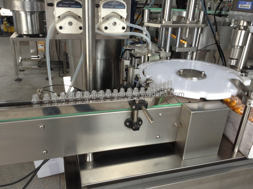 Automatic Filling Machine For 10 mL PET Dropper Bottles with video
