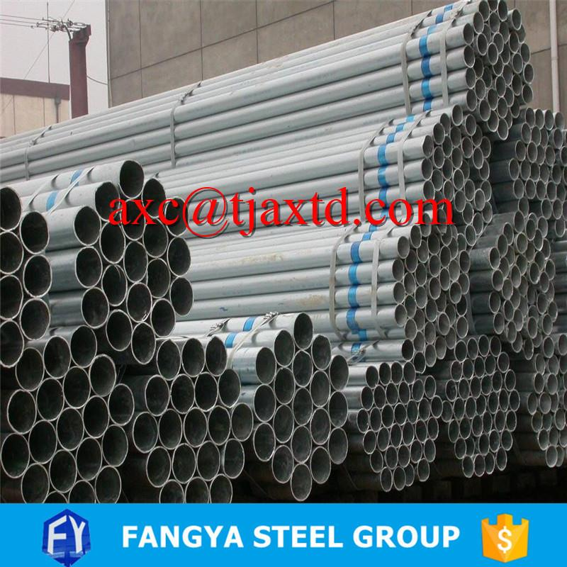 Tianjin Anxintongda ! bs1139 scaffolding pipes erw welded technique galvanized steel tubes with CE certificate