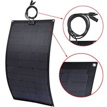 Free shipping solar panel roll up soft ETFE laminated 60w 12v semi flexible solar panel