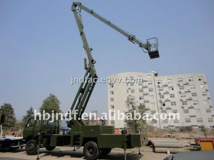Overhead Work Truck 24M Articulated Platform