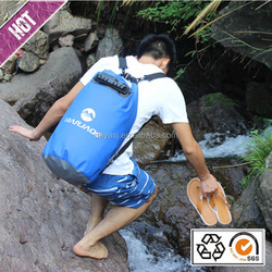 Waterproof Bag With Handle Strap Drifting Bag Hiking Wading Package Diving Moistureproof Dry Backpack
