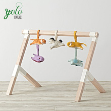 wooden baby toys play gym