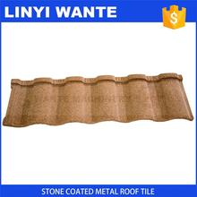 Eco-Friendly cheap price Kerala stone coated metal roof tile with CE certificate