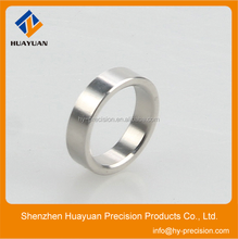 Customized high precision cnc turning stainless steel rings/spacer