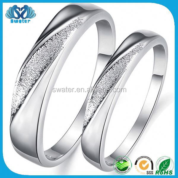 Stainless Steel Jewelry 925 Silver Ring Settings Without Stones