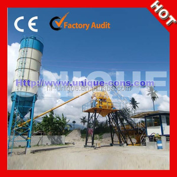 Henan 25m3 Mini Concrete Batching Plant For Sale