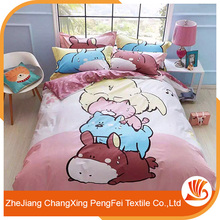 Good quality embroidery designed bed sheet bedding set for sale