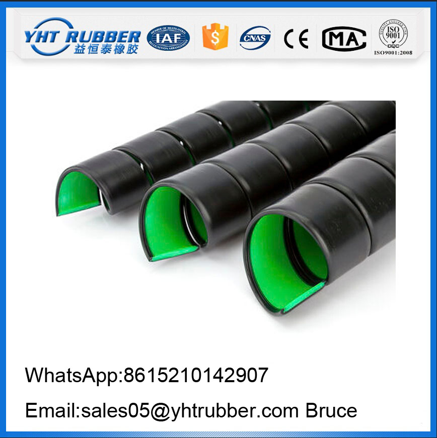 China Supplier HDPE Spiral Hose Guard for hydraulic hose