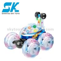 !2012 new R/C tip lorry with six lights remote control stunt gp Crash Car Mania rc cars for saletoy car