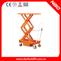 NBO High Lifting Platform Truck, Indoor Scissor Lift Platform for Sale