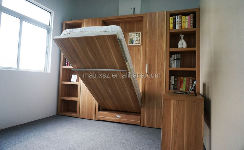 Single Wall Bed : Vertical Murphy Bed Wall