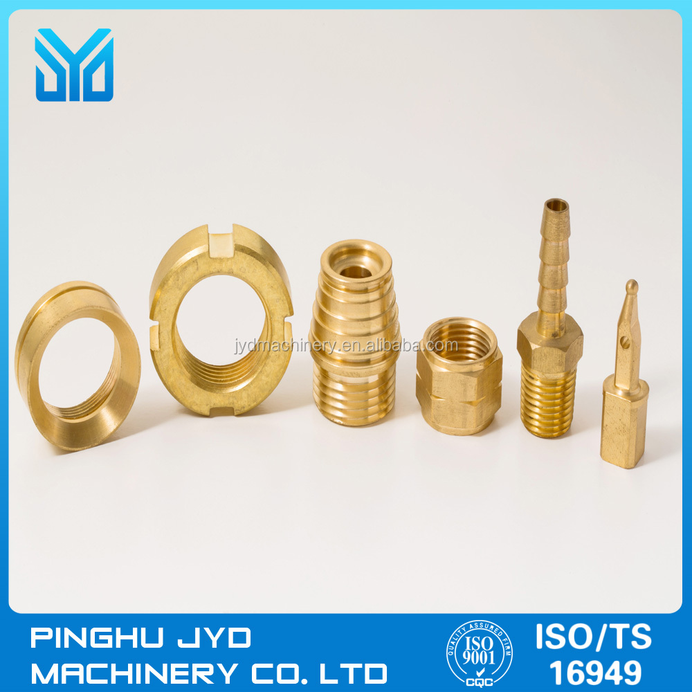 cnc precision machining parts brass parts