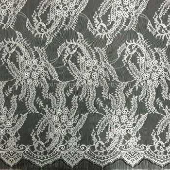 New 2015 embroidery design wedding dress guipure lace