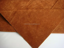 1.1mm thick double side flocking leather ugg boots fabric shoes