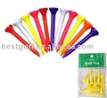 Plastic golf tee / golf accessory / golf product