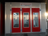 water curtain spray booth/spray paint booth