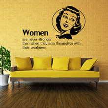 9158 Art Characters Wall Stickers Beautiful Women Bedroom Living Room DIY Home Decorations Quotes Vinyl Decals