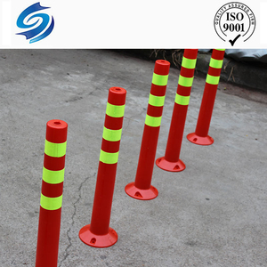 Hot sale plastic reflectors marine parking barrier posts bollards
