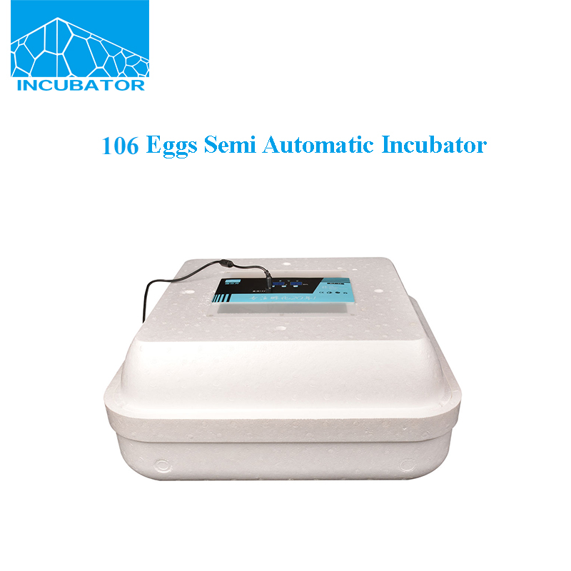 cheap 106 pcs eggs foam shell full automatic computer control incubator