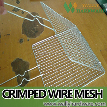 crimped wire mesh bbq grill wire mesh, stainless steel barbecue bbq grill wire mesh net