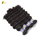 Real wholesale brazilian human hair extension in dubai,remy brazilian cuticle aligned deep wave virgin hair