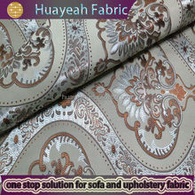 polyester jacquard curtain fabric turkey for room decoration